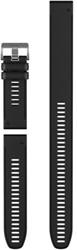 Garmin Descent vervangingsband zwart siliconen, incl XL band
