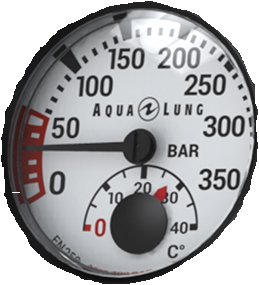 Aqualung Manometer Module 300Bar