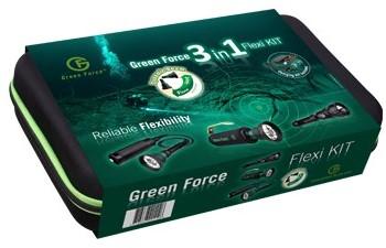 Greenforce 3 In 1 Flexi Db Kit kabellamp