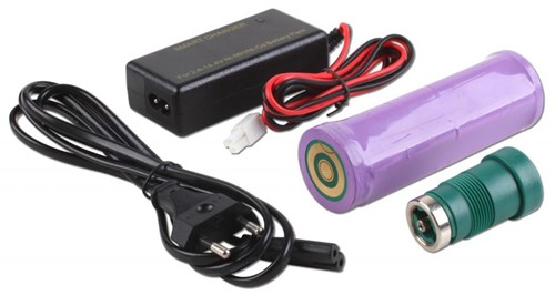 Greenforce Charging Kit Hybrid Battery 7.402 + Charger 7.360 + Plug 1.258