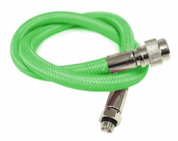 Inflatorslang flex groen 90 cm