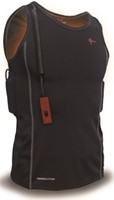 Thermalution Green grade  Thermal vest (Single battery) red controller XL