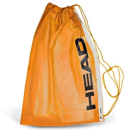 Head Training mesh bag oranje