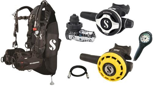 Scubapro Set Hydros Pro MK25 S600