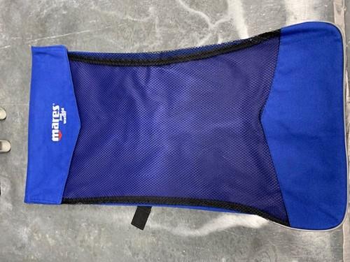 Mares snorkeltas blauw met schouderband