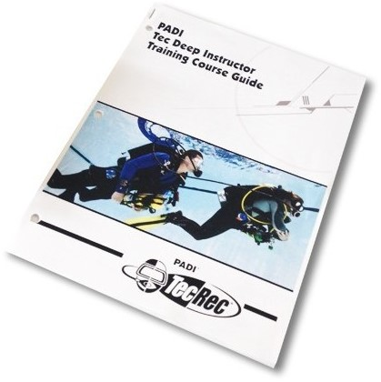 PADI Instructor Trainer Guide - Tec Deep, without Binder