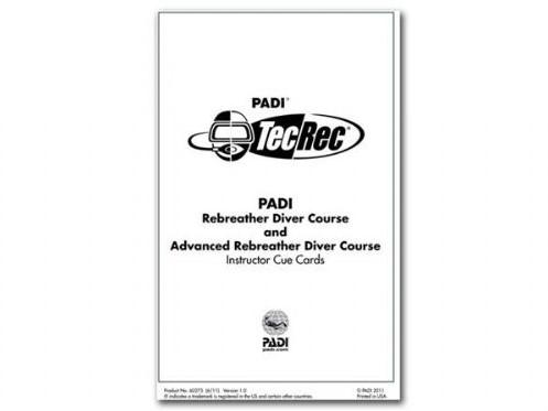 PADI Slates - PADI Rebreather & Advanced Rebreather, Instructor