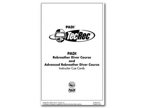 PADI Slates - PADI Rebreather & Adv Rebreather, Instruc. (German)