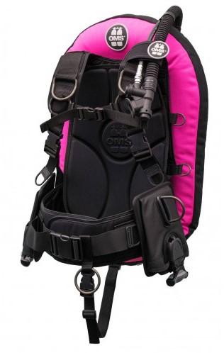 OMS XL, pink / black, IQ Lite CB Signature PF Mono 32 lb