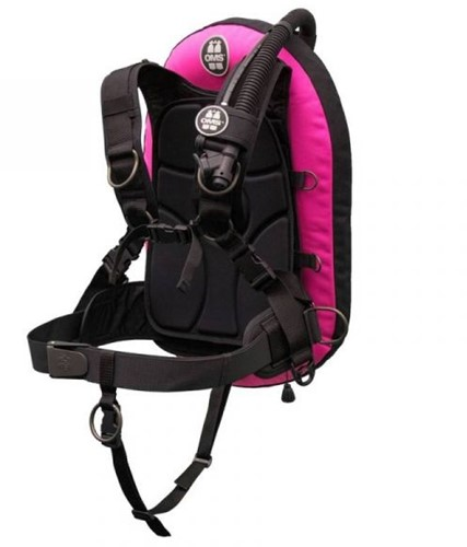 OMS S, pink / black IQ Lite PF Mono 32 lb