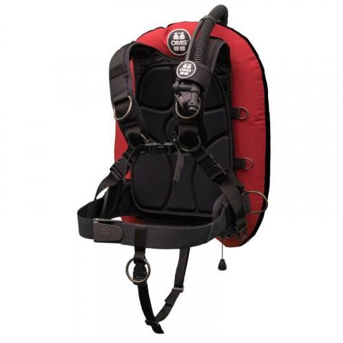 OMS XL, Red / schwarz IQ Lite PF Mono 32 lb