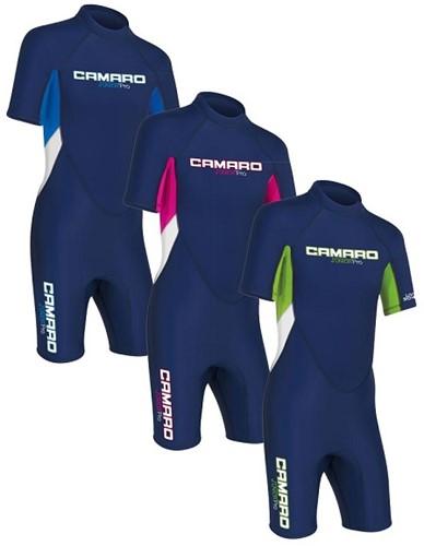 Camaro Junior Flex Shorty 272371-79 blue lime 122