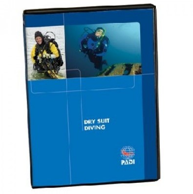PADI DVD - Dry Suit Diving, Diver Edition (Portuguese)