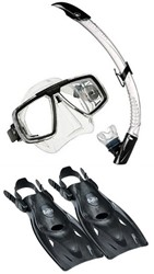 Aqualung Look Multiflex snorkelling set