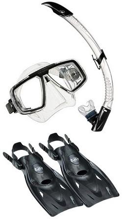 Aqualung Look Multiflex snorkelling set
