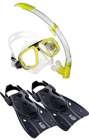 Aqualung Look Reeftourer snorkelling set