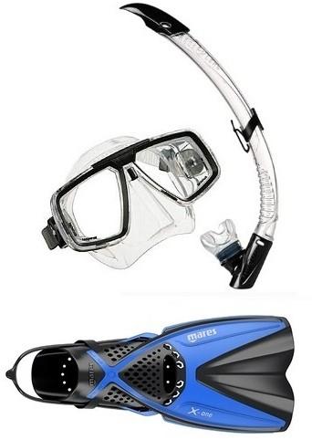 Aqualung Look X-One snorkelling set