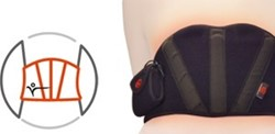 Thermalution Power Heated Red belt (Lumbar)