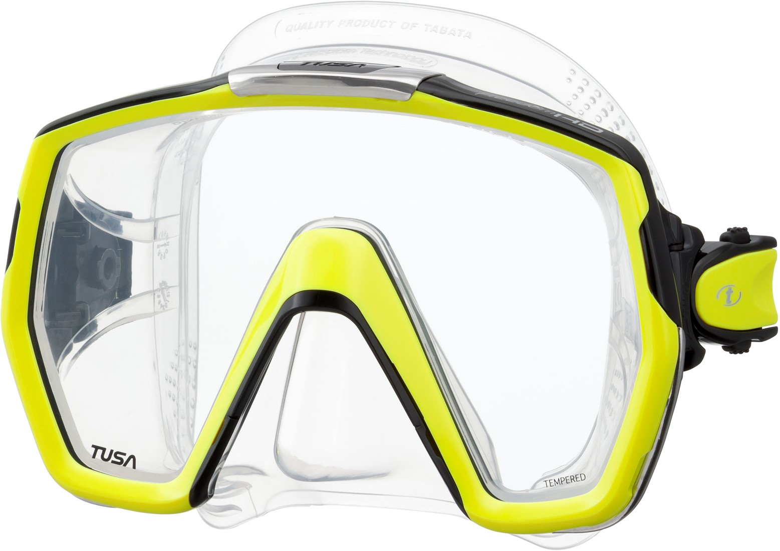 dda4d558df7a3e Tusa M1001 Freedom Hd duikbril bij SubLub