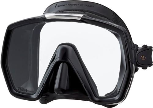 Tusa M1001Qb Bk Freedom Hd duikbril