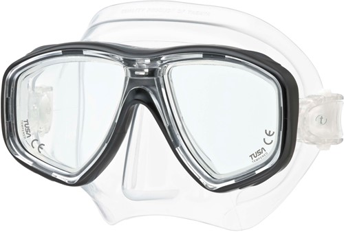Tusa M28 Bk Geminus duikbril