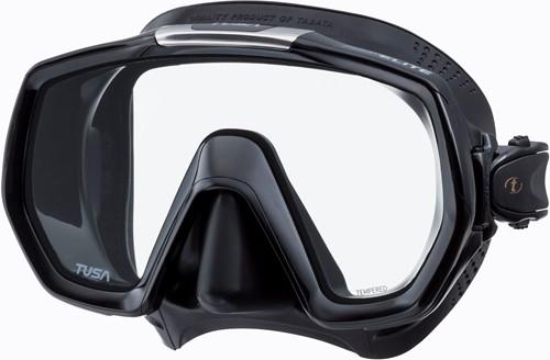 Tusa M1003Qb Bk Freedom Elite duikbril