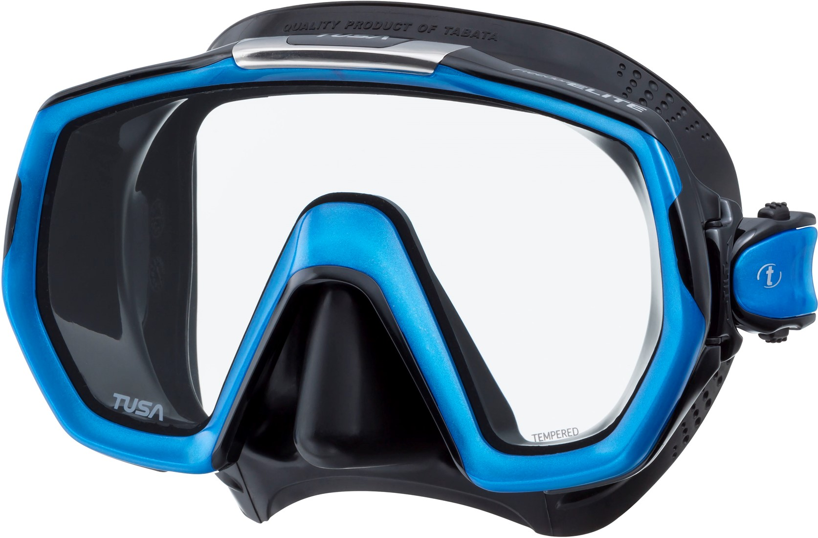 708008c2a49375 Tusa M1003Qb Fb Freedom Elite duikbril bij SubLub