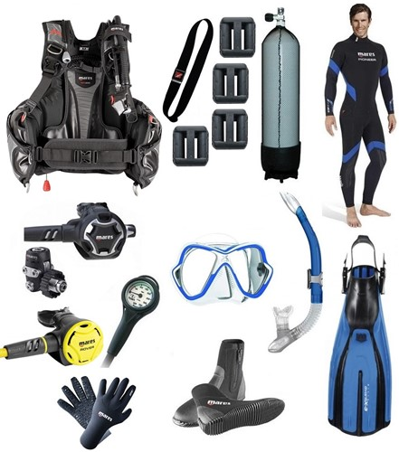 Mares Complete Divegear Kit Why Rent?