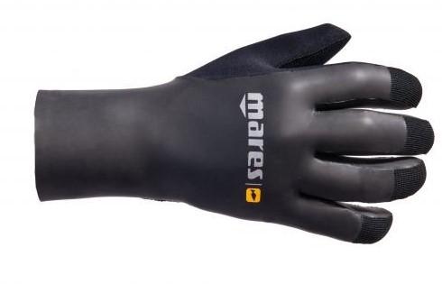 Mares Gloves Smooth Skin 35 Bk Xl