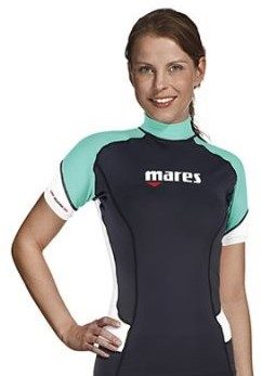 Mares Rash Guard Trilastic S/S She Dives Xs