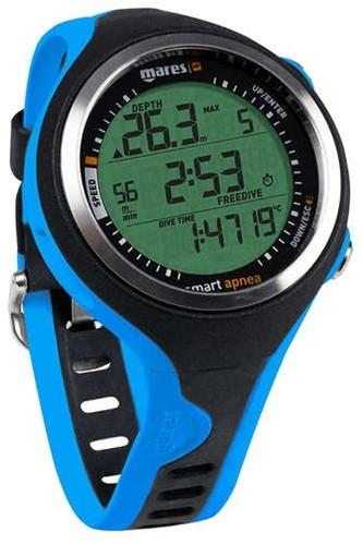 Mares Freedivecomputer Smart Apnea Zwart-Blauw