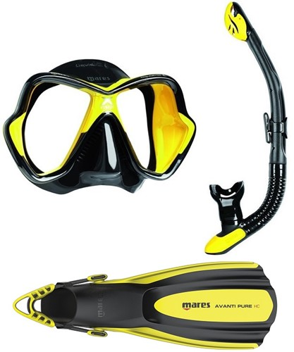 Mares X-ultra Pure snorkelset
