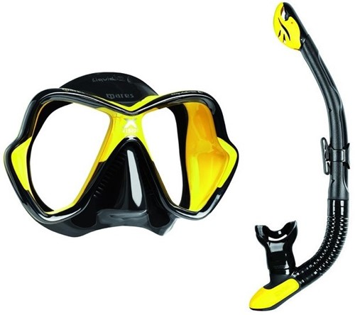 Mares X-vision Ultra Dry snorkelling set