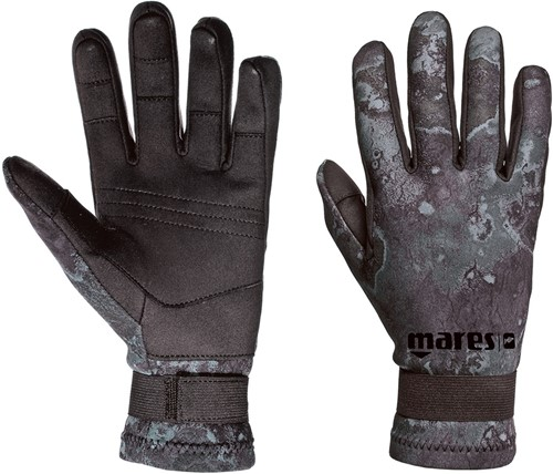 Mares Gloves CAMO BLACK