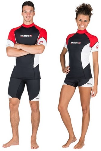 Mares Rash Guard Trilastic S-Sleeve Dc Shedive S