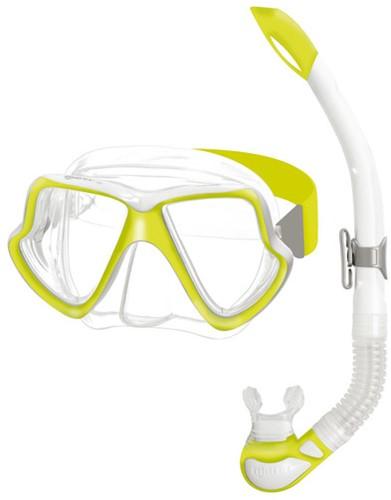 Mares Snorkelset Wahoo Neon Yellow