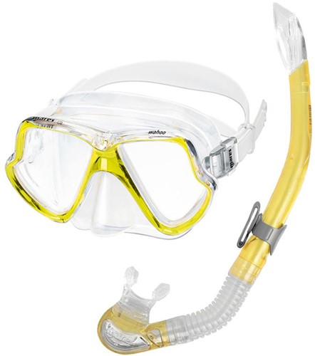 Mares Mask+Snorkel Set Wahoo Ryl Cl Sf