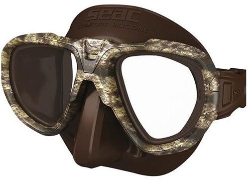 Seac Mask Extreme Kama S/Br Brown