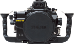 Sea & Sea Mdx-80D Housing For Canon 80D (Leak Sensor As Standard)