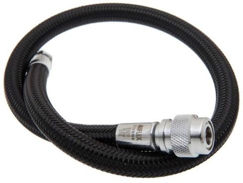 Inflator hose flex  30cm - black
