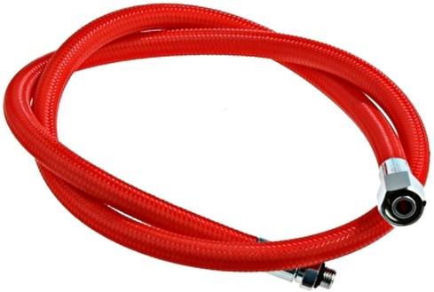 Automatenslang flex 3/8 rood 120 cm