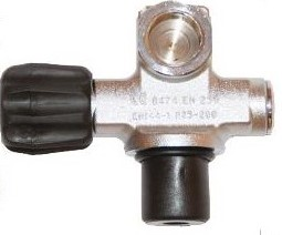 Single Valve With Second Outlet 300Bar W28.8 Viton G5/8