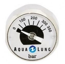 Aqualung Mini 350 Bar Deco Pony O2 manometer