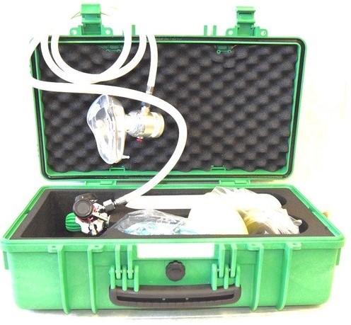 Zuurstofkoffer 2 liter EMT