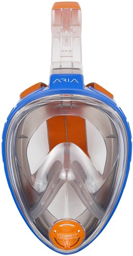 Ocean Reef Aria - Full Face Snorkeling Mask Blue L/Xl