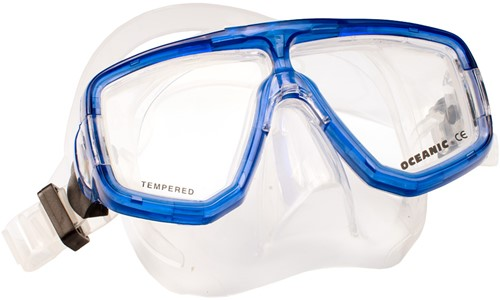 Oceanic Site mask Clear Blue