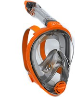 Ocean Reef Aria - Full Face Snorkeling Mask Orange L/Xl