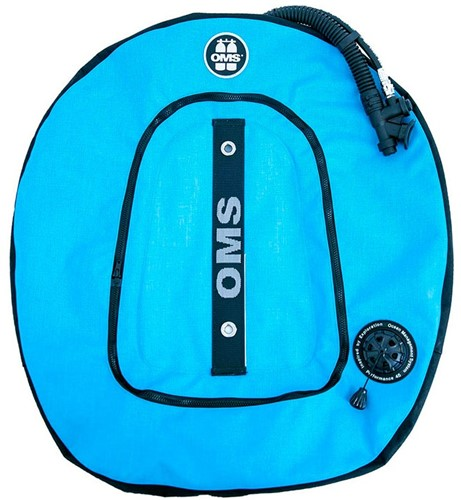 OMS Performance Double Wing 45 lb. lift--Miami Blue / Black