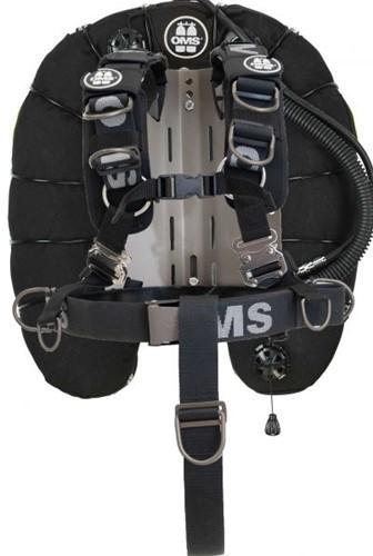 OMS AL, schwarz, Comfort Harness III Signature Deep Ocean 60 lb