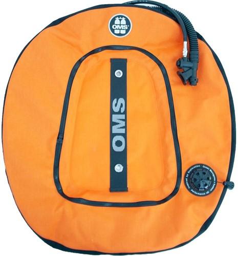 OMS Performance Double Wing 45 lb. lift--Lava Orange / Black